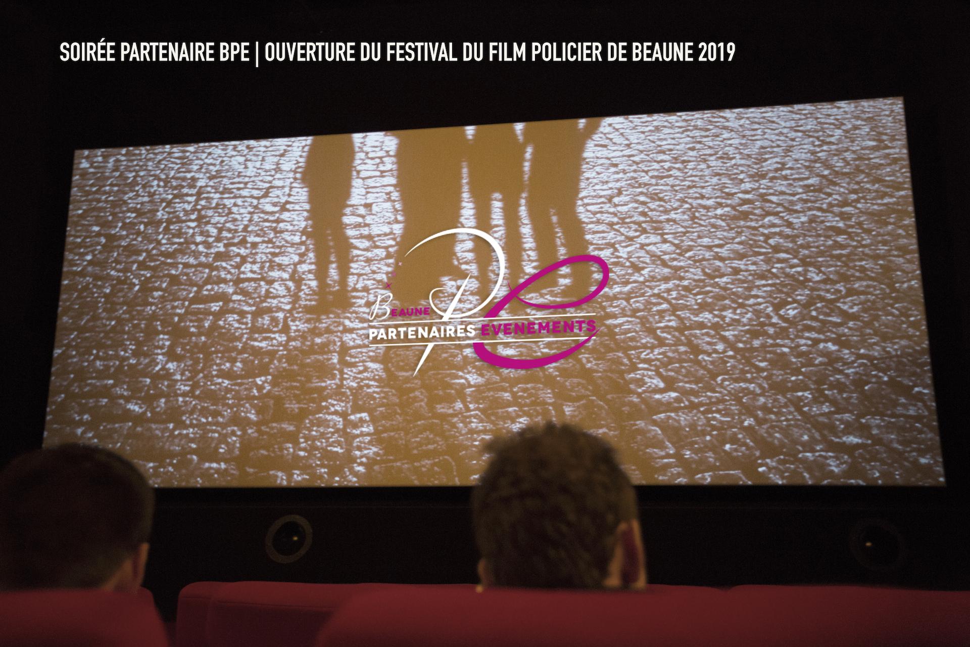 Soirée Partenaire BPE | Ouverture du Festival de Film Policier de Beaune 2019